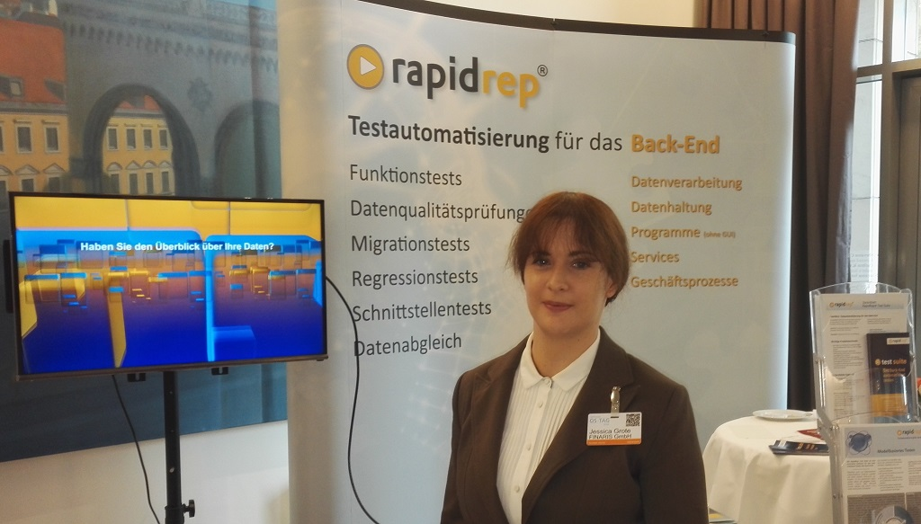RapidRep exhibition booth Software-QS-Tag 2016